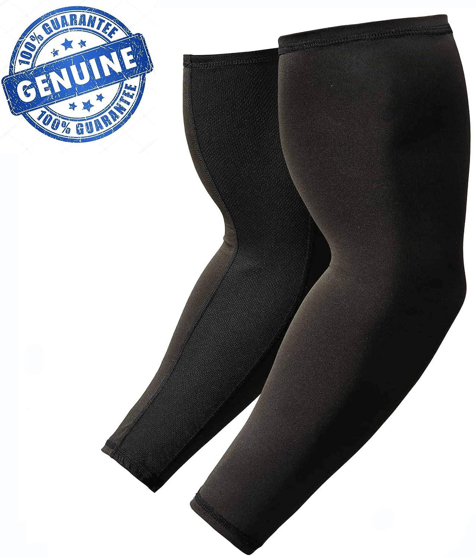 Generic Unbranded Driving Sun Protect Arm Sleeve (Black, Medium)