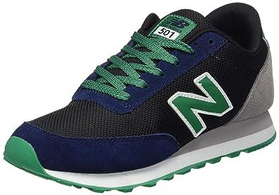 New Balance - Zapatillas Unisex, color multicolor (negro/azul ...