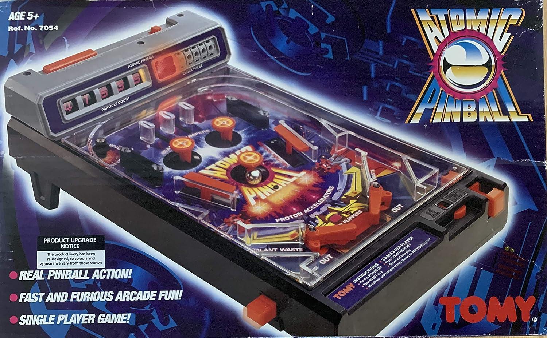 Tomy Atomic Pinball Tapa de pilas battery cover cubierta bateria arcade game