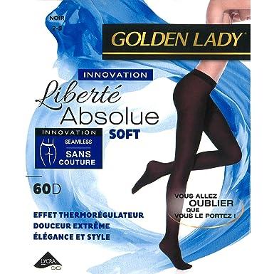 Golden Lady Lot de 2 collants Liberté Absolue Soft 60D (Medium ... 916fc4fe1fe