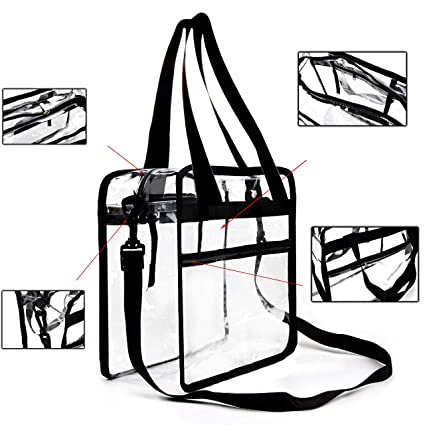 Amazon.com  Youngever Clear Bag 12 X 12 X 6 983c6bf462c04