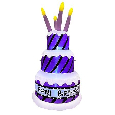 Amazon.com: Esencialmente tu tarta de cumpleaños inflable ...