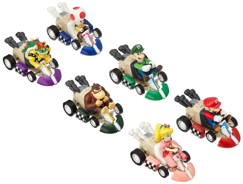 Max Fun 6pcs Mario Kart Cars Pull Backs Figure Set Made in China B073QPBB2Z