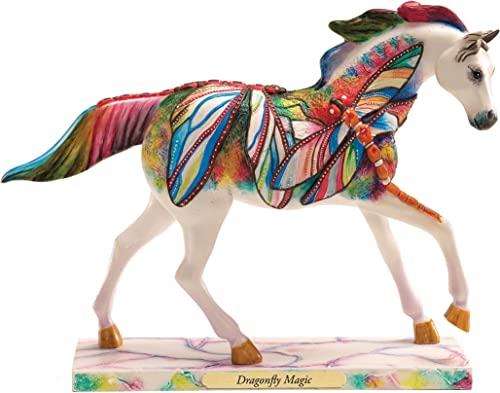 Enesco Trail of Painted Ponies Dragonfly Magic Figurine 6.3-Inch