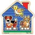 Melissa & Doug Pets Jumbo Knob Wooden Puzzle