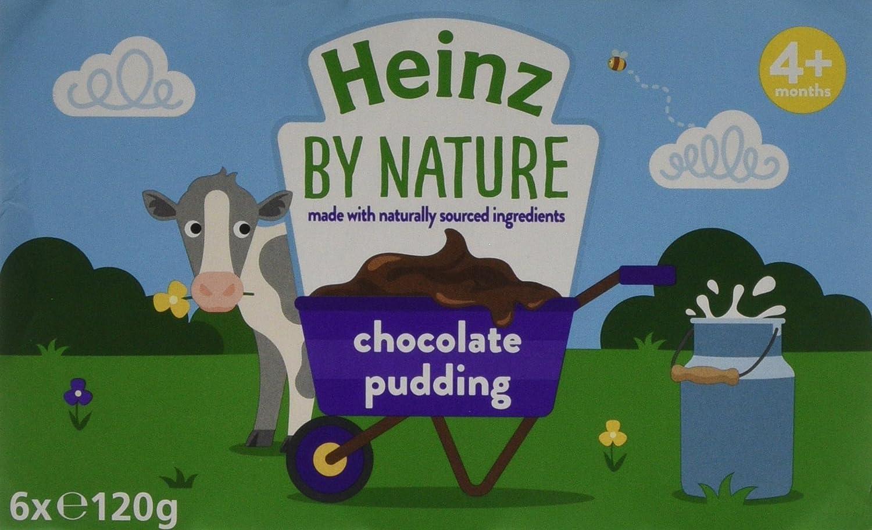 Heinz Chocolate Pudding Jar, 6 x 120 g (Pack of 4) The Kraft Heinz Company 76011260