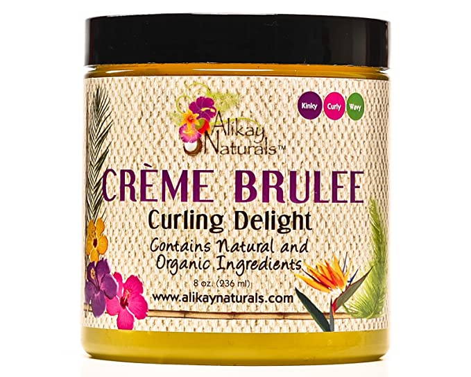 Alikay Naturals - Creme Brulee Curling Delight 8oz