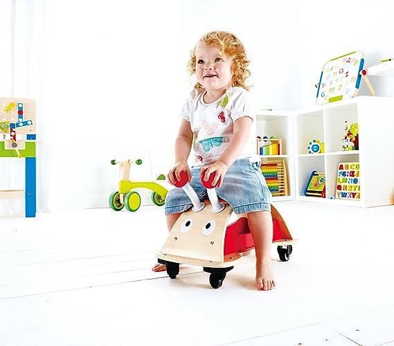 Amazon.com: Hape Bug Acerca de Kid 's Empujar y Tirar ...