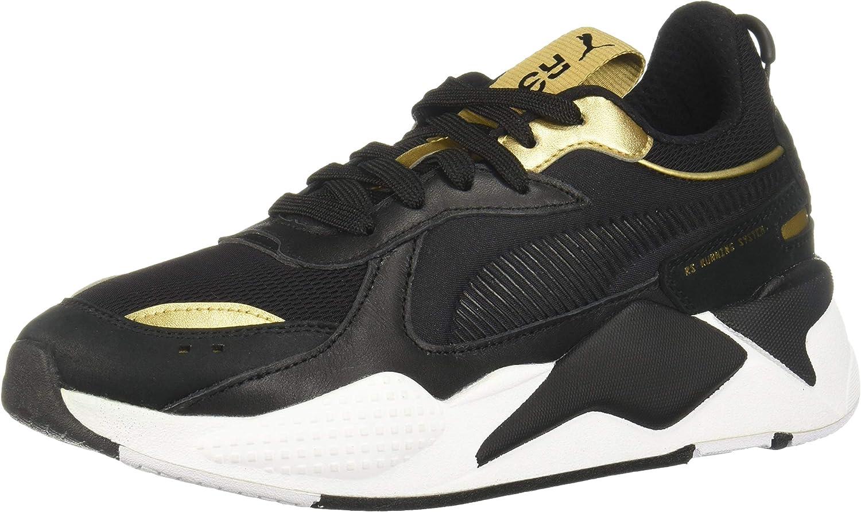 hélice policía Derechos de autor  Amazon.com | PUMA Mens RS-X Trophy Black Low Top Sneakers Shoes 7 ...