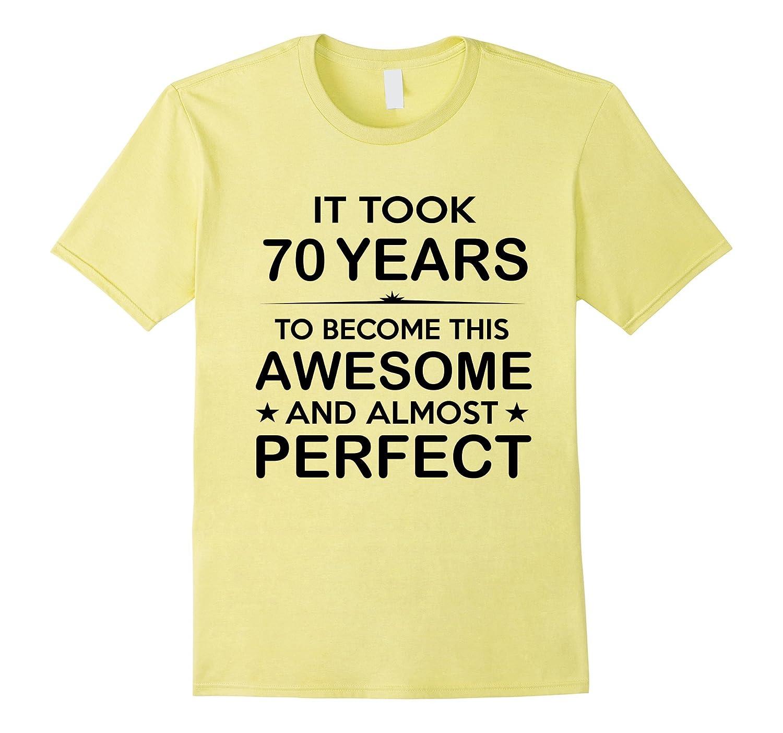 Seventy 70 Year Old 70th Birthday Gift Ideas Her Him PL