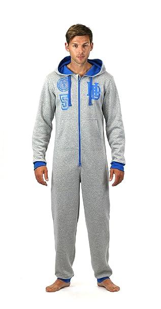 Pijama de hombre para senderismo ONEZEE all-in-One Comfy manta polar con diseño