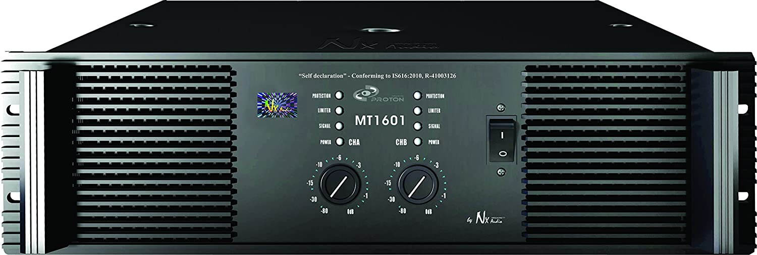 NX Audio Proton MT1601 Live Sound Power Amplifier
