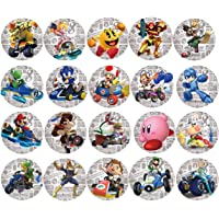 Enyi store amiibo cards NFC Game Cards for Mario Kart 8 Nintendo Switch 20pcs with Cards Holder