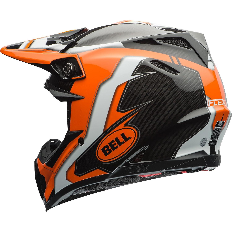 color naranja//negro Bell Moto-9/Carbono Flex Off Road Motocross MX casco/ /Factory