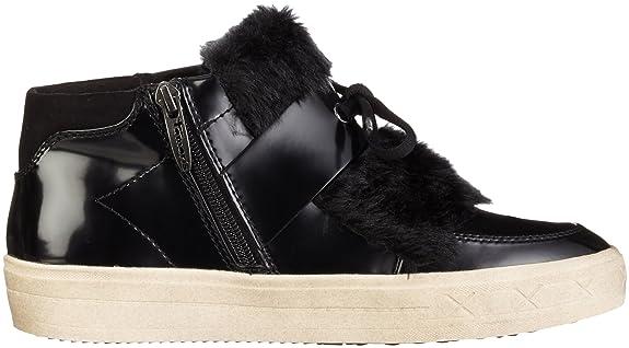 Tamaris 25058, Hautes Chaussures Pour Femmes, Noir (noir Bru./blk 015), 39 Eu