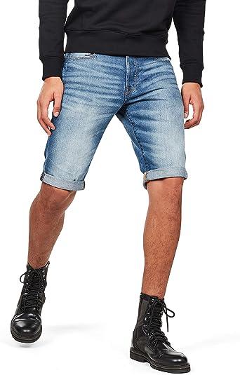 TALLA 38. G-STAR RAW 3301 1/2 Pantalones Cortos para Hombre