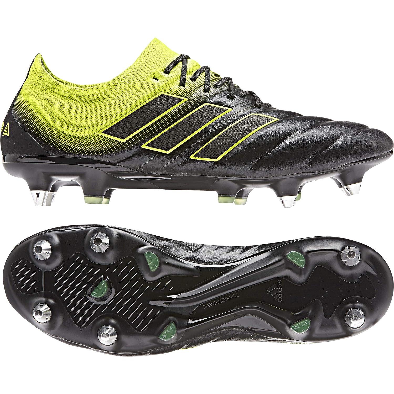 MultiCouleure (Negbás Amasol Negbás 000) 46 EU adidas Copa 19.1 SG, Chaussures de Football Homme