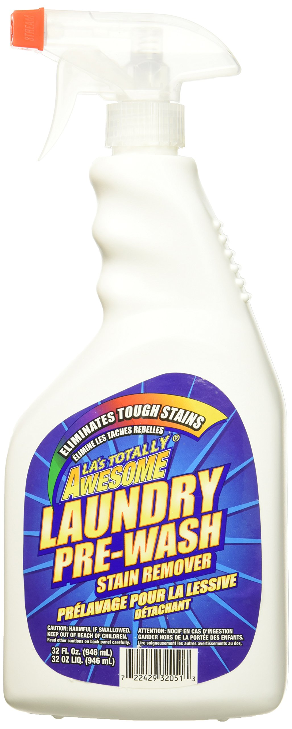 LA's Totally Awesome Laundry Pre-Wash Stain Remover, 32 Ounce