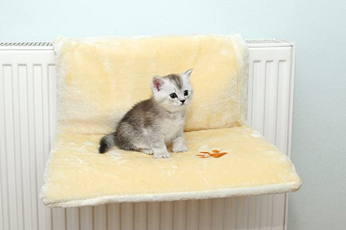 Katzen Plüsch Liegemulde Hängeliege Heizkörperliege Katzenbett ...