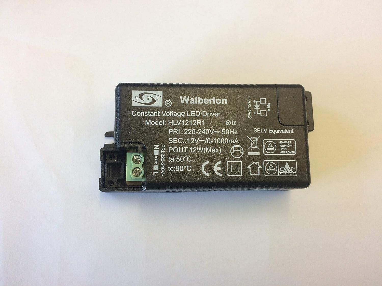 Waiberlon HBL dimmbar LED Driver HLVA5045TD 38-43V 1050mA 40-45W Treiber Trafo