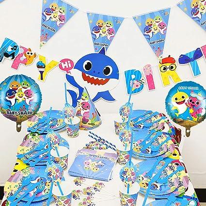 Amazon.com: Juego de 152 piezas para decoración de fiestas ...