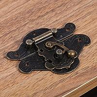 sieraden doos klink hasp, eenvoudig te installeren klink hasp, kast hasp, sieraden doos voor vintage houten kist voor…