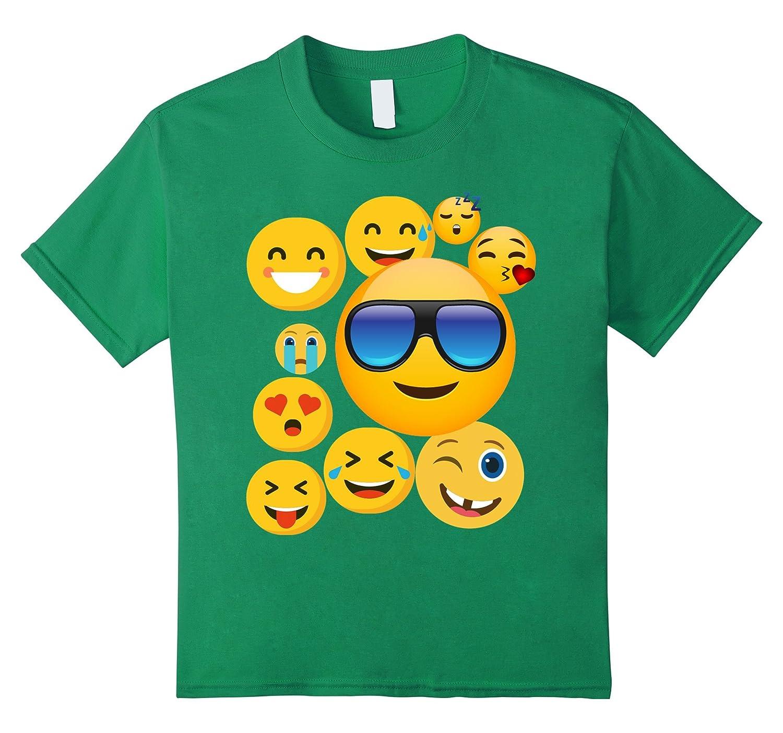 Amazon.com: emoji wear -shirt Emoticon Cute smileys Face T-Shirt: Clothing