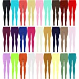 LessThanTenQuid Missloved ™ Plus Size Plain Stretchy Viscose Lycra Leggings UK Sizes 12-26 * 25+ Colours *