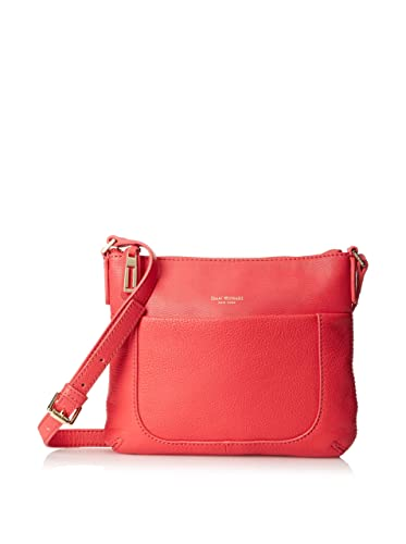 a239e3e25a Isaac Mizrahi Womens Fashion Designer Handbags Lileth Leather Crossbody Bag  Watermelon Red  Handbags  Amazon.com