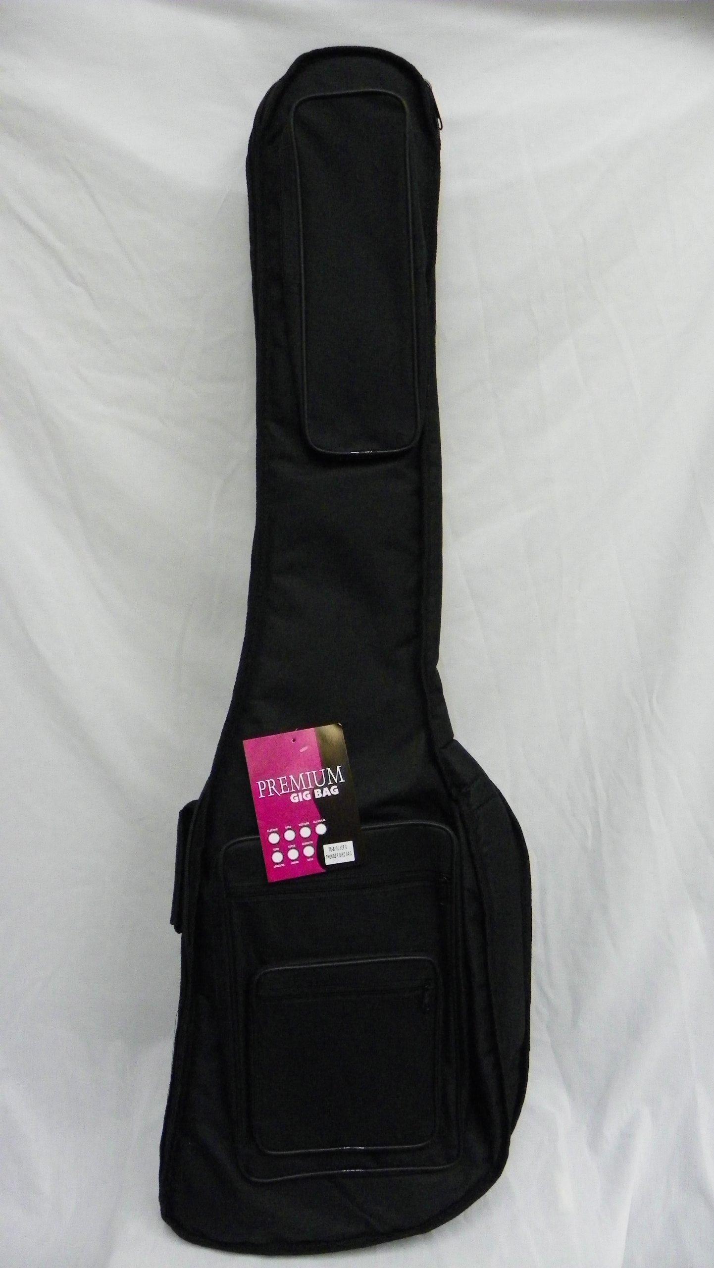 Extra Thick Thunderbird Bass Guitar Gig Bag /soft case