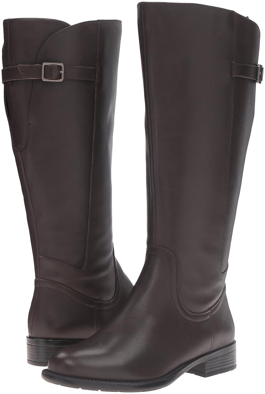 Easy Spirit Boot Women's Jimlet-Wide Calf Riding Boot Spirit B01DCXR1P8 6 B(M) US Dark Brown Wide Leather b60c20