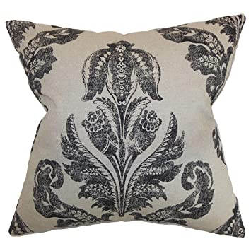 Amazon.com: The Pillow Collection Figari Floral - Cojín ...