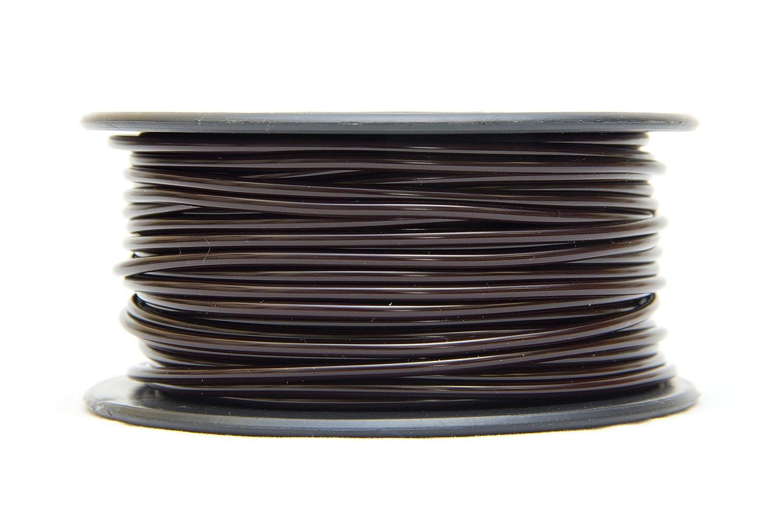 MG Chemicals PLA 3D Printer Filament, 3.0mm, 0.5 Kg, Brown PLA30BR5