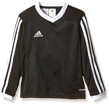 Adidas Trikot Tabe 14 Long Sleeve Jersey Camiseta, Hombre, Negro/Blanco, 2XL