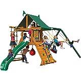 Amazon Com Gorilla Playsets Malibu Navigator Swing Set Toys Games