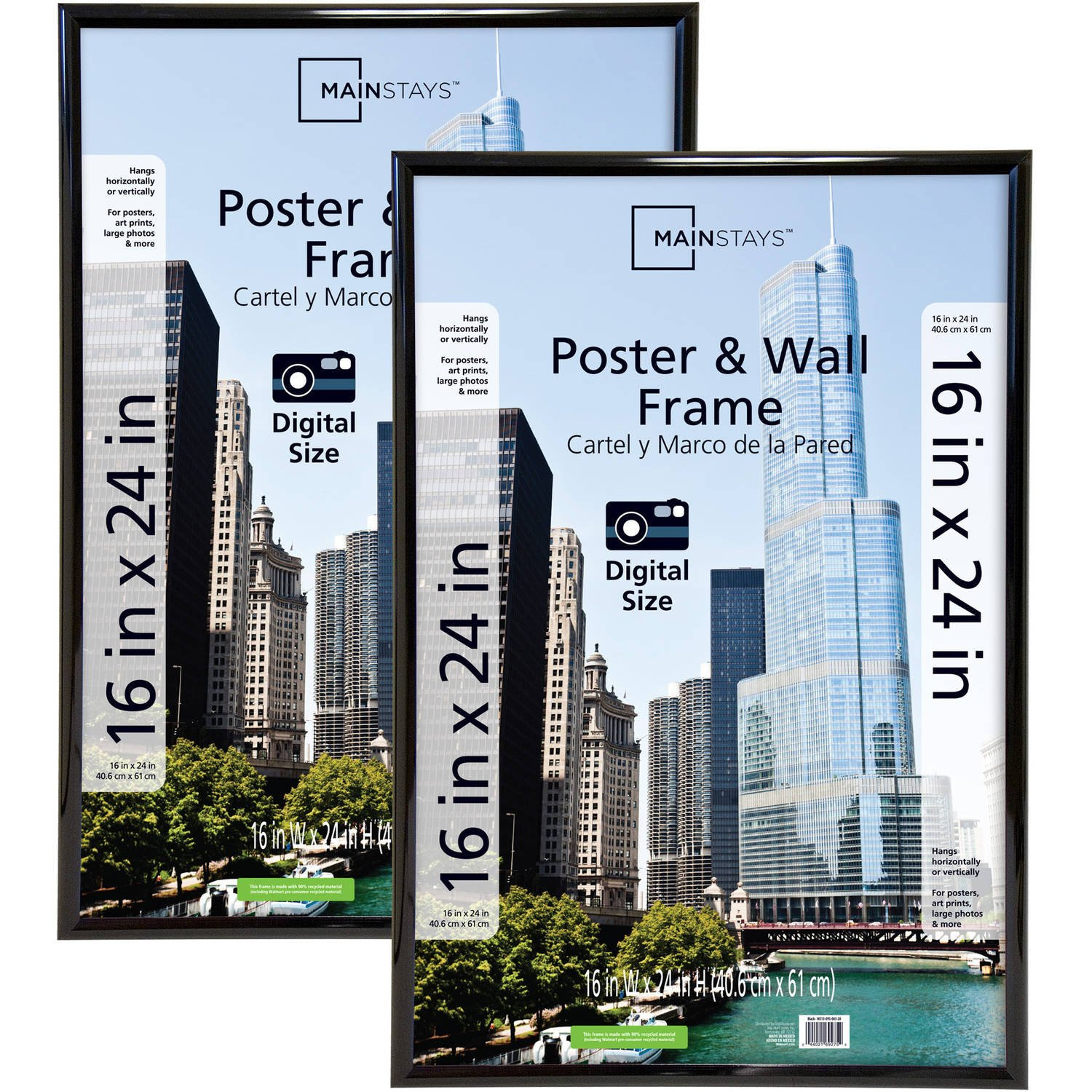 Amazon mainstays 16x24 trendsetter poster and picture frame amazon mainstays 16x24 trendsetter poster and picture frame black set of 2 cell phones accessories jeuxipadfo Images