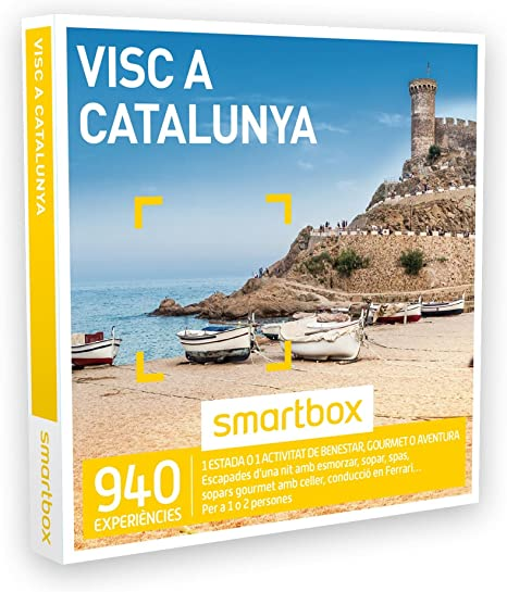 Smartbox - Caja Regalo - VISC A Catalunya - 940 escapades, SPA ...