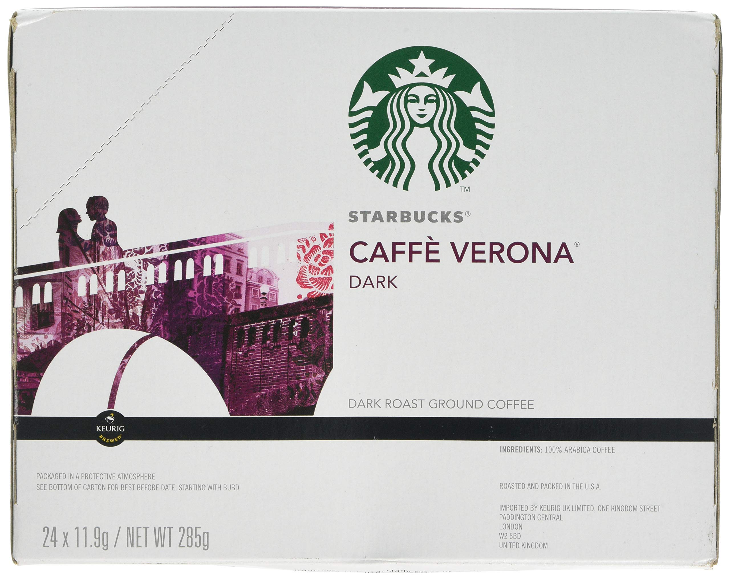 Starbucks Caffe Verona Dark, K-Cup for Keurig Brewers, 24 Count by Starbucks (Image #4)
