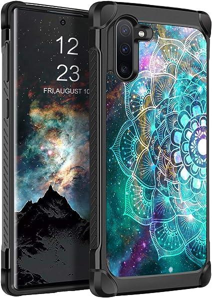 BENTOBEN Case for Galaxy S10,Space Stars Mandala Pattern Shockproof/Hard PC Cover Soft TPU Bumper Heavy Duty Rugged Anti-Scratch Non-Slip Protective Phone Case for Samsung Galaxy S10,Mandala in Galaxy