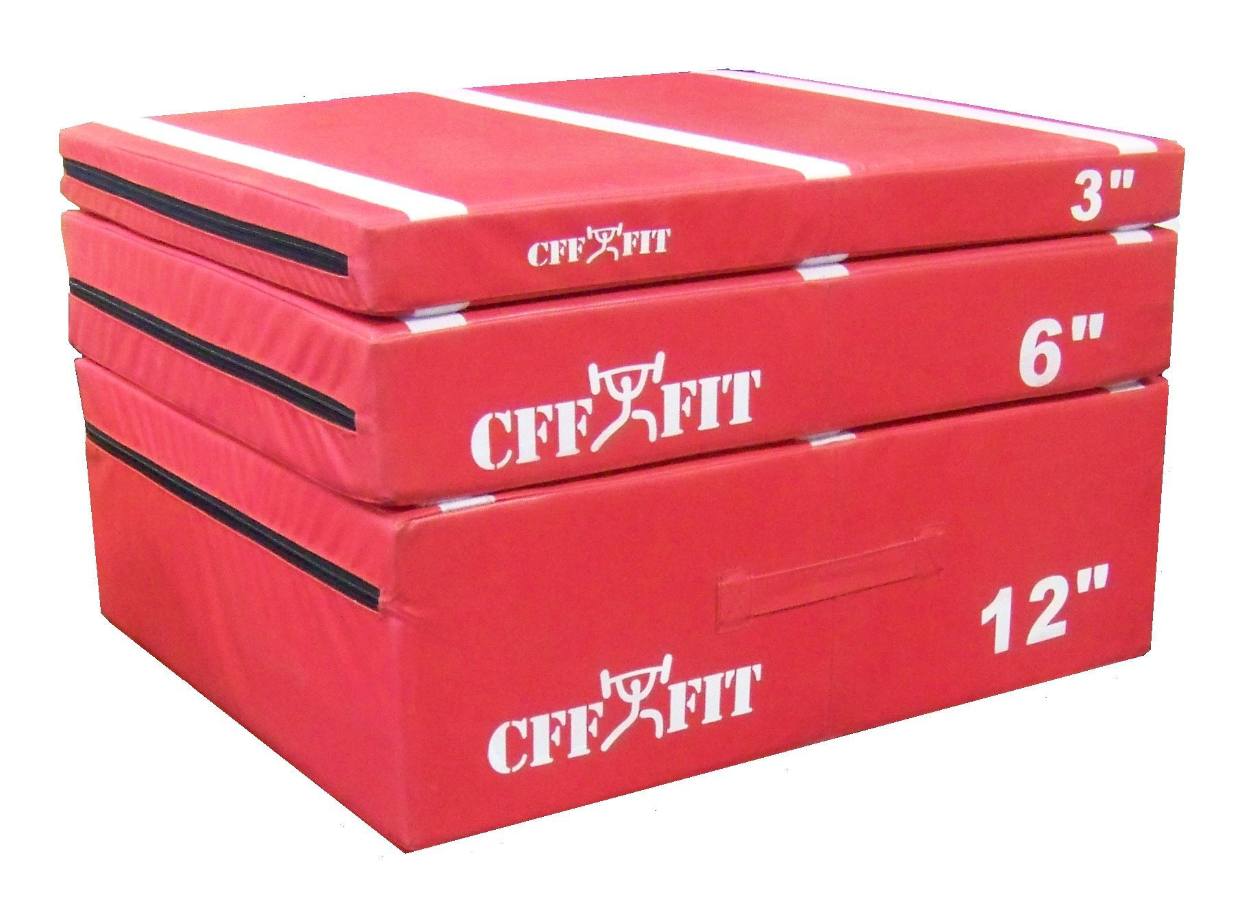 CFF Cushion Plyo Boxes (Set 3''-6''-12'') by CFF FIT (Image #1)