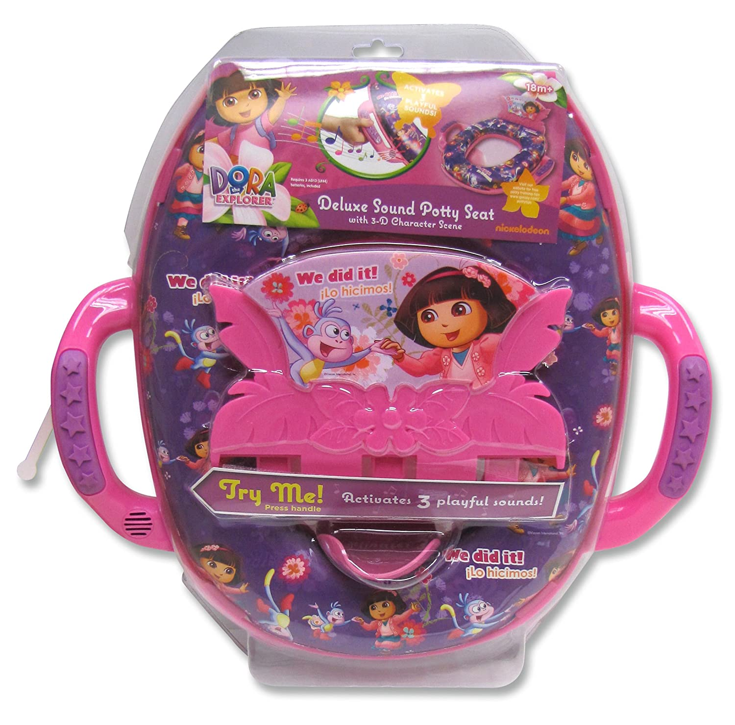 Dora the Explorer - Adventures Ahead! Deluxe Sound Potty Seat Ginsey 31822