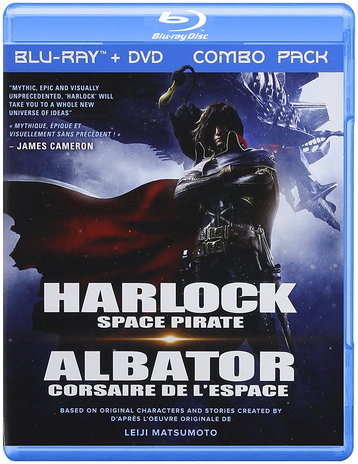 Harlock Space Pirate / Albator - Corsaire De L'Espace [Blu-ray] (Version française) N/A UV/DEP Cartoons & Animation Movie