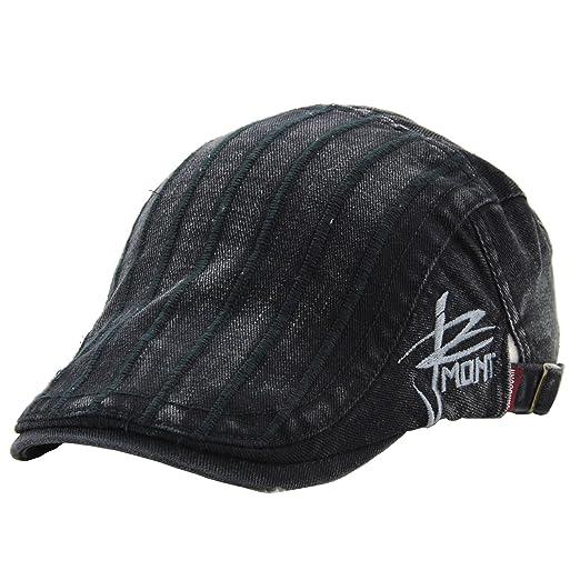 835f3759d3c4 Amazon.com: NALITARE Newsboy Flat Cap Gatsby Ivy Irish Hunting Hat ...