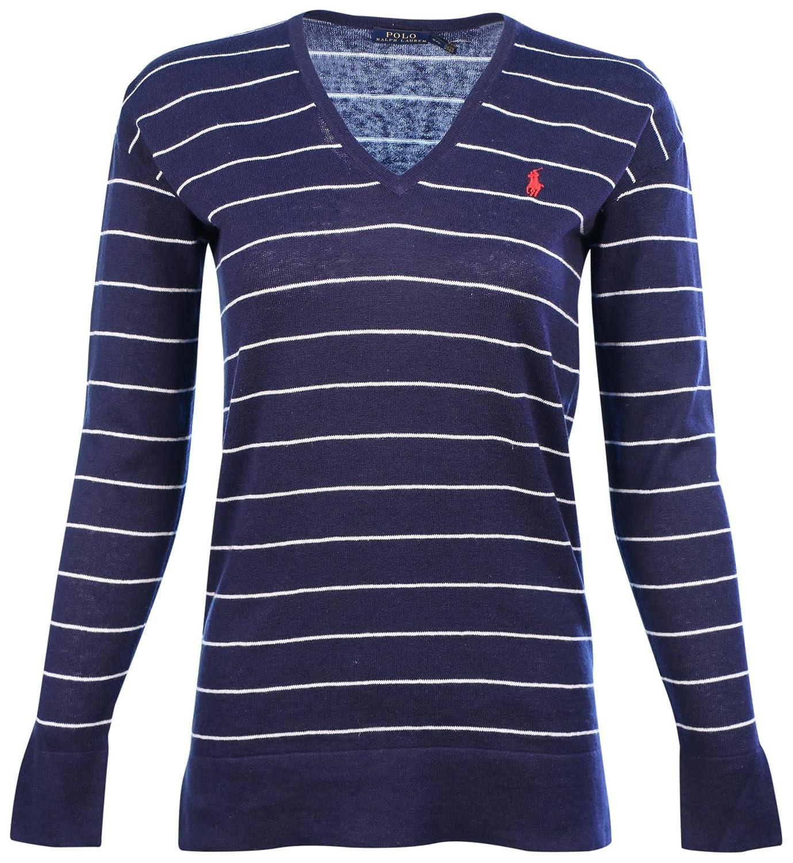 3c25ccbb7a Ralph Lauren Women s V-Neck Lightweight Sweater (X-Small