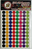 Coding All Purpose Multi-Colored Stickers 3/8 inch Diameter. Value Pack of 1320 Count By School Smarts Save Big Discounts are in the special offers section of the page.