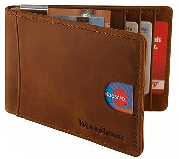 Wolfstrøm Caso de Tarjeta de crédito con Clip del Dinero ...
