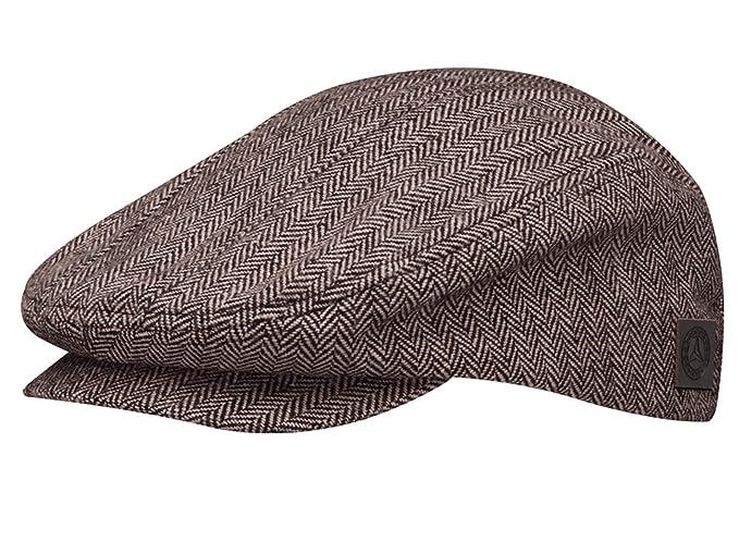 Mercedes-Benz - Gorra de béisbol - para hombre Marrón marrón / beige talla única: Amazon.es: Ropa y accesorios