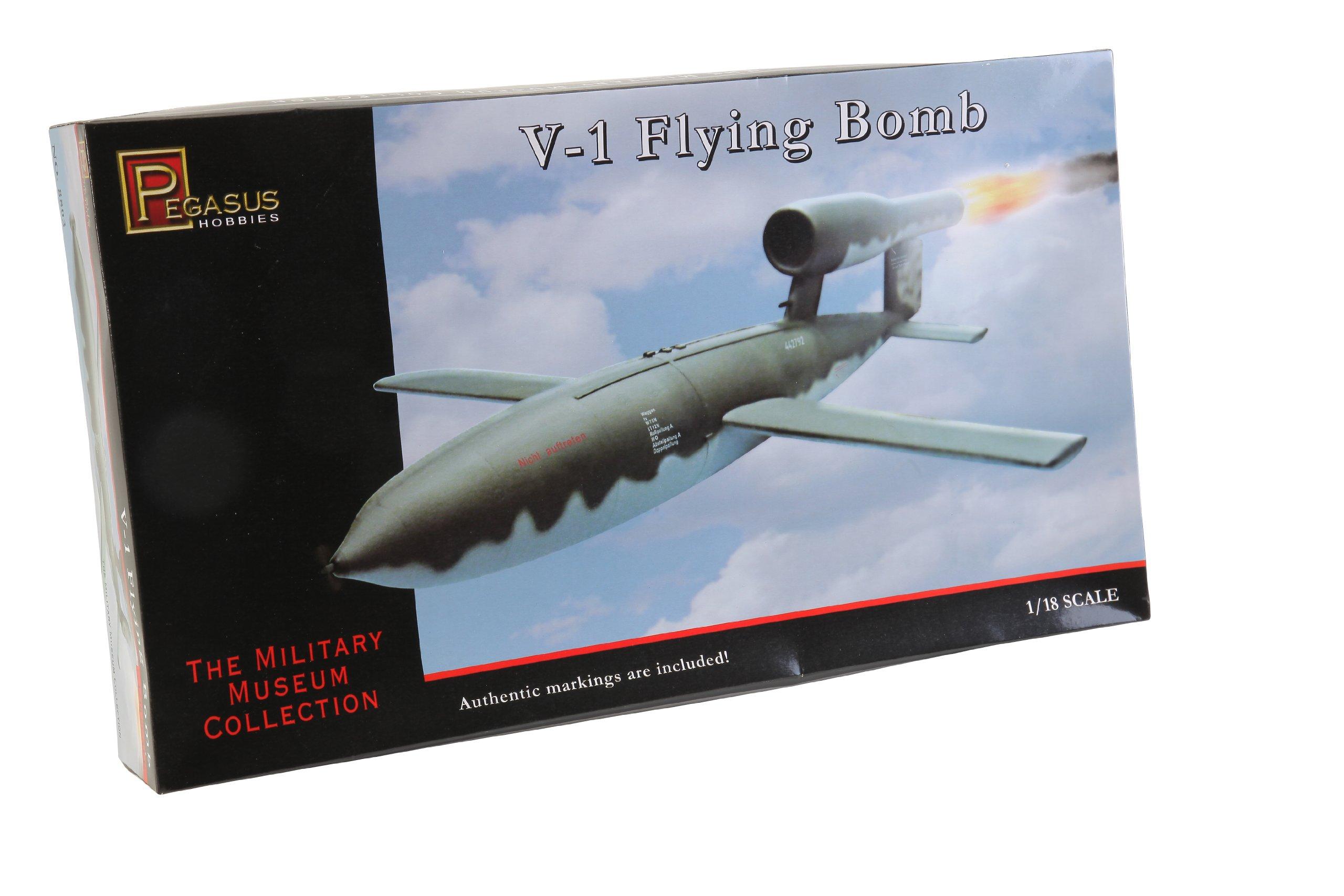 Pegasus Hobby 1/18 German V-1 Flying Bomb Model Kit