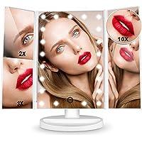 HAMSWAN Espejo de Maquillaje, [Regalos] Espejo de Mesa