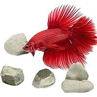 SunGrow Shrimp Mineral Rocks, Zorg voor Magnesium dat de viskleur verbetert, Calcium helpt bij het ruimen, Voor…